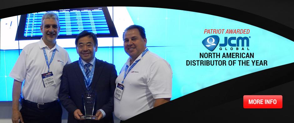 JCM Distributor Award