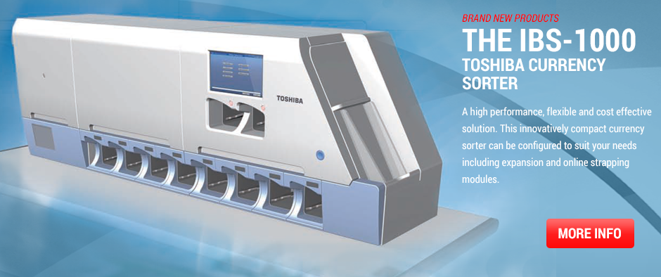 Toshiba Currency Sorter