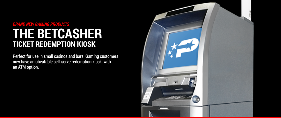 The BetCasher Ticket Redemption Kiosk