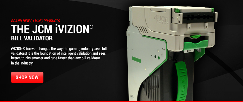 The JCM iVIZION® Bill Validator